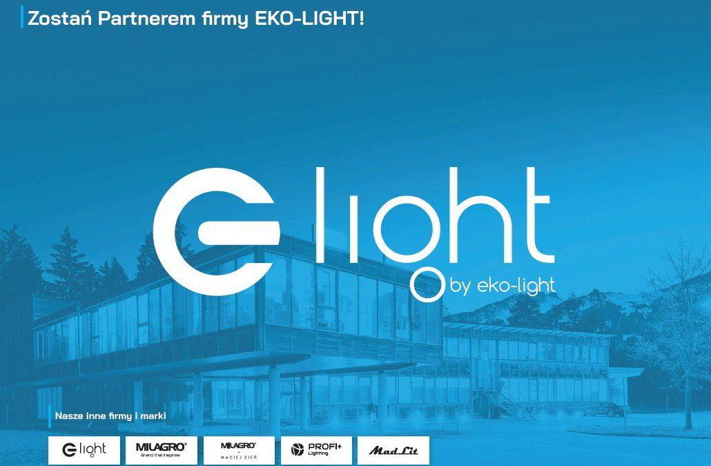 Zostań partnerem firmy Eko-Light! Twoja działalność! Nasze wsparcie! Wspólny sukces!